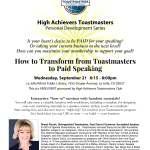 High Achievers-Sheryl Roush Seminar 09 21 2016