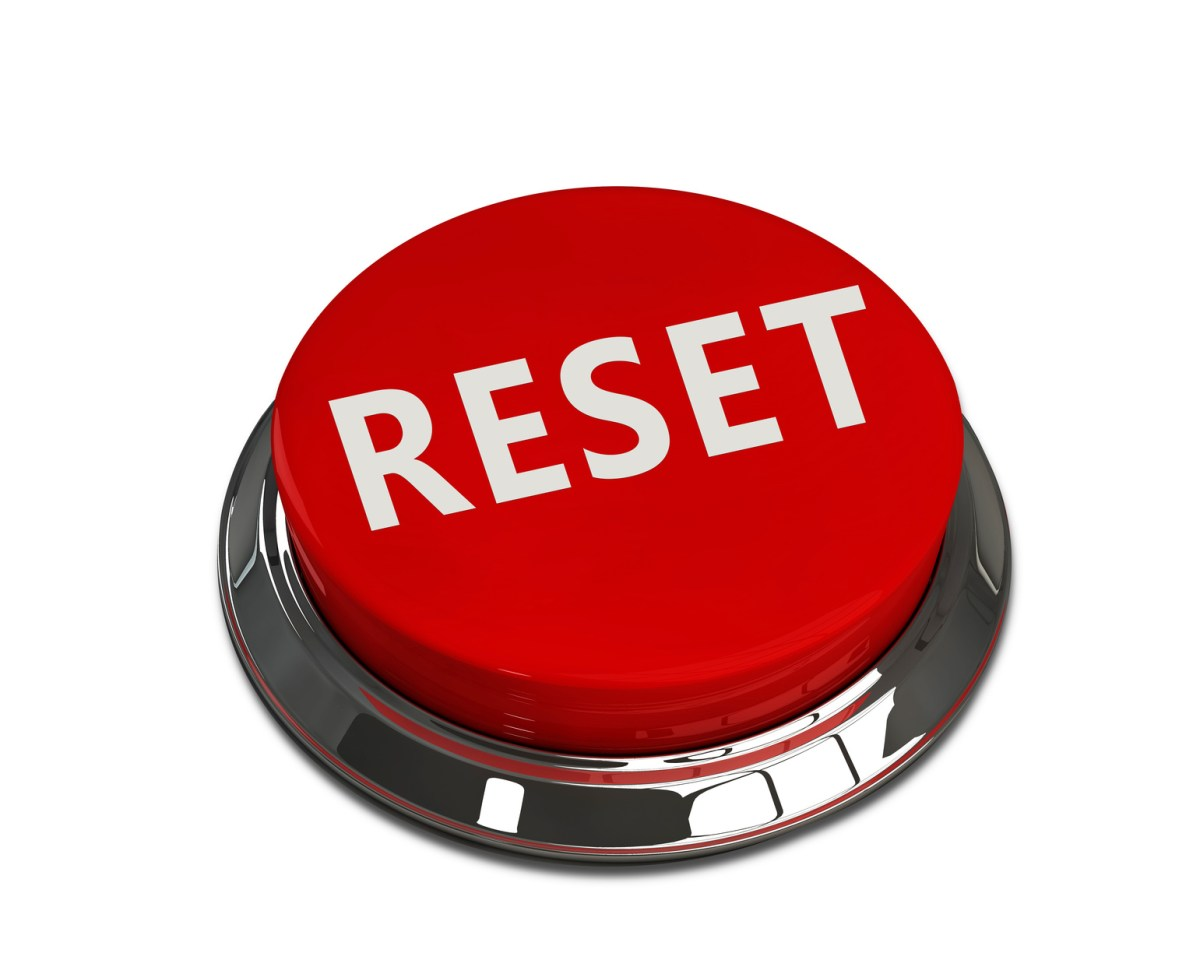 The professional guest hitting the reset button the