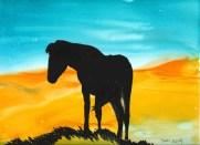 Horse Silhouette copy