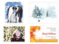 F. Snow: Penguins, Old Dog in the Snow, Happy Snowfall