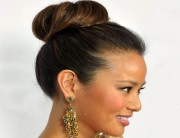 bridal bun hairstyles - 'said'