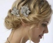 winter wedding hairstyles - 'said'