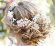 beach wedding hairstyles - 'said'