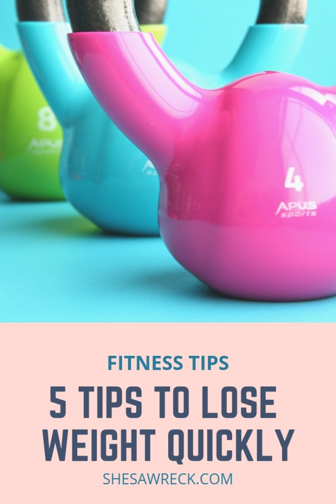 5 Tips to Lose Weight Quickly the Healthy Way #weightloss #loseweight #diet #womensfitness #cardio #calories #dietplan #veganlifestyle #healthyliving
