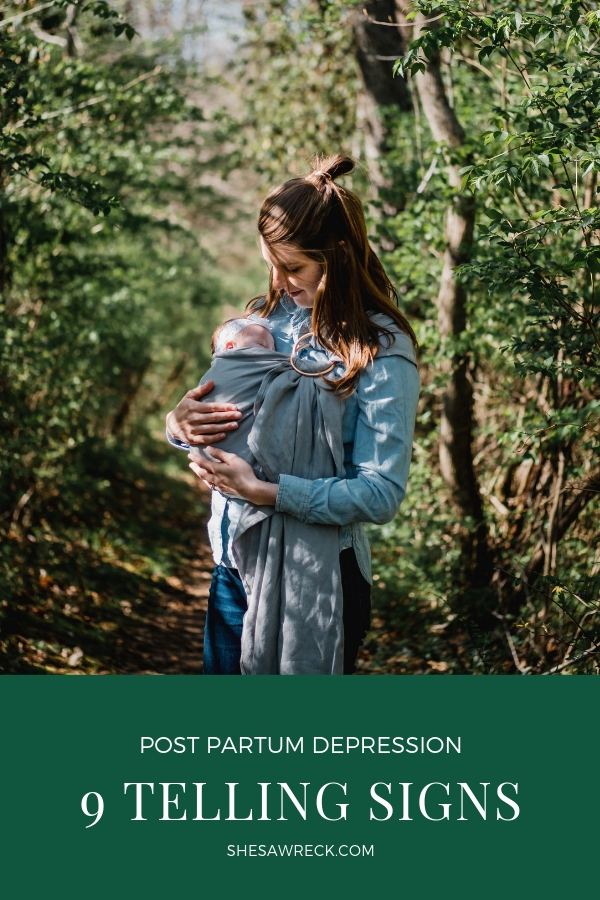 POST PARTUM DEPRESSION: A PERSONAL STORY AND 9 TELLING SIGNS #ppd #postpartumdepression