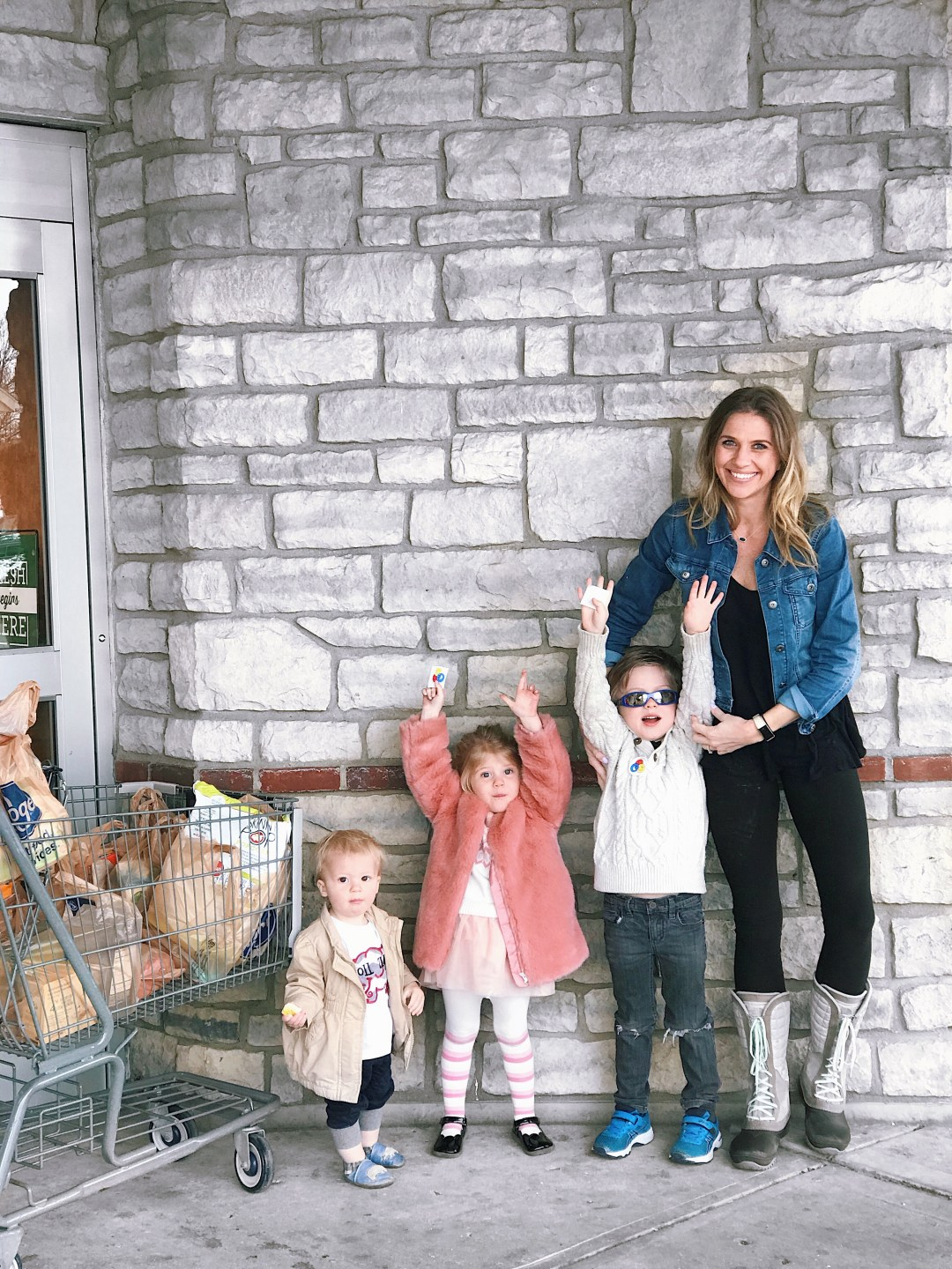 Busy Mom's Hack to Grocery Shopping