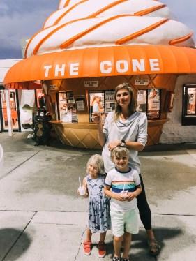 Dessert at The Cone