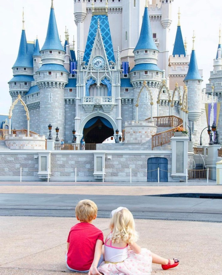 Traveling with small kids to Walt Disney World
