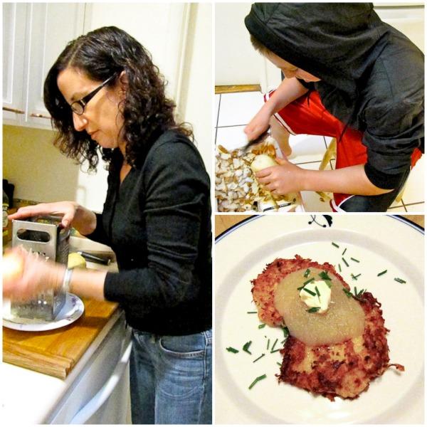 How to Make Crispy Potato Latkes