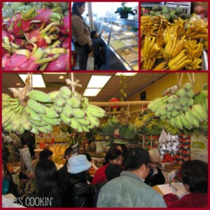 fruit market in Little Saigon