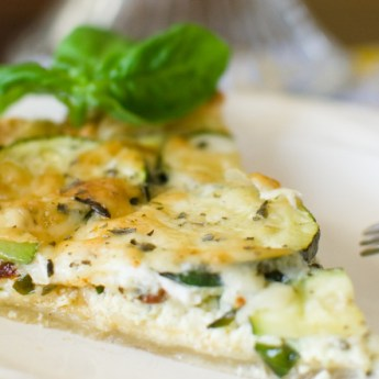 Zucchini and Sundried Tomato Tart
