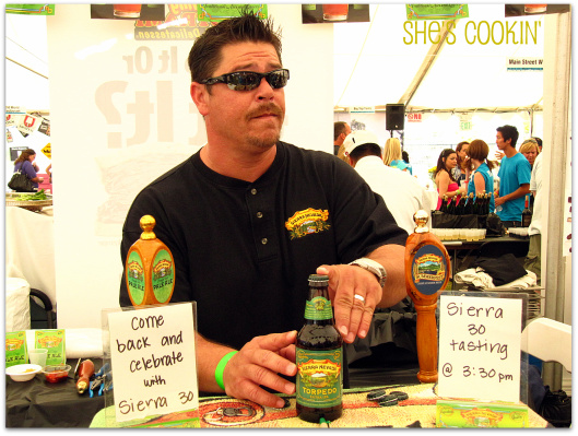 Sierra Nevada, Taste of Huntington Beach, ShesCookin.com