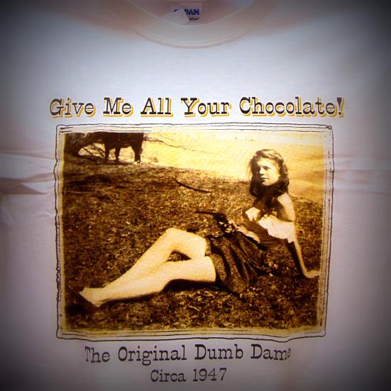 Hallie Chambers - the original dumb dame.