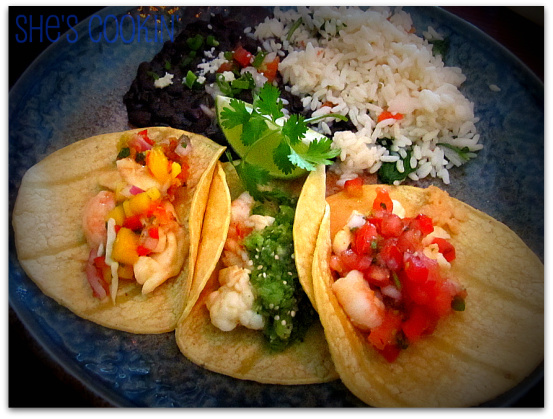 Lobster Tacos at Sol Cocina