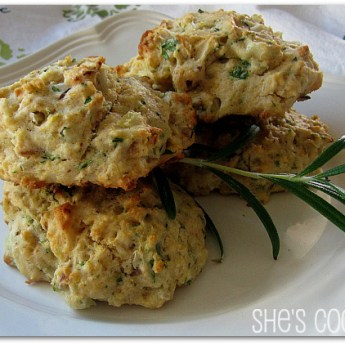 Almond Herb Biscuits