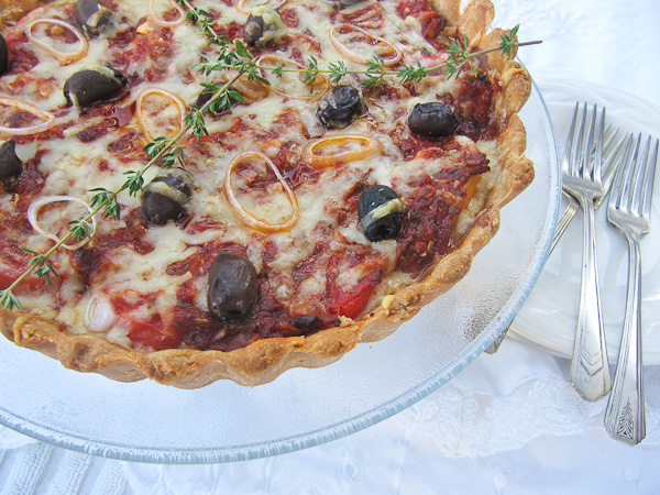 French Tomato Tart | ShesCookin.com