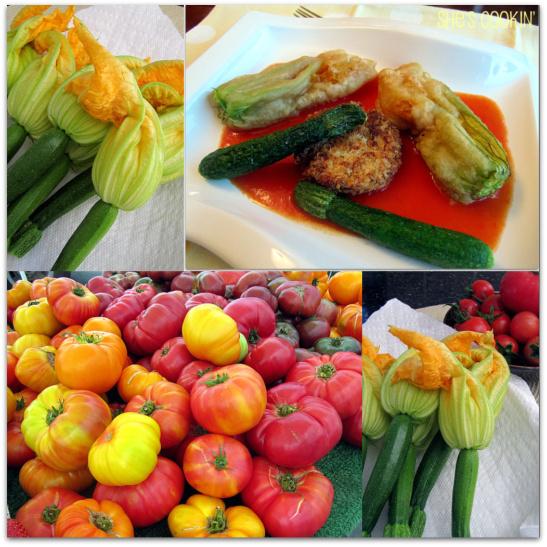ZucchiniBlossom collage