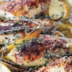 Ina Garten's Lemon Chicken Breast with thyme
