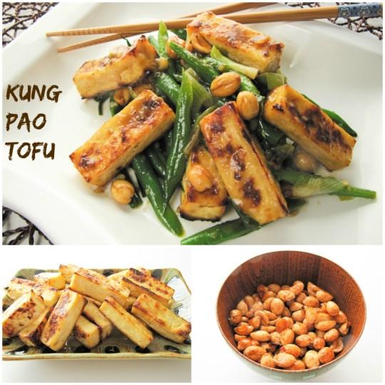 Kung Pao Tofu - Pinterest