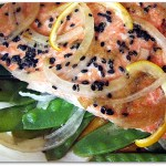 Salmon in Parchment | ShesCookin.com
