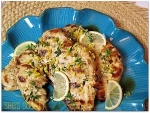 grilled lemon chicken breast