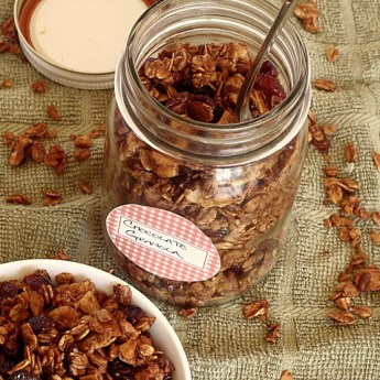 Guest Post: Chocolate Granola by Diethood