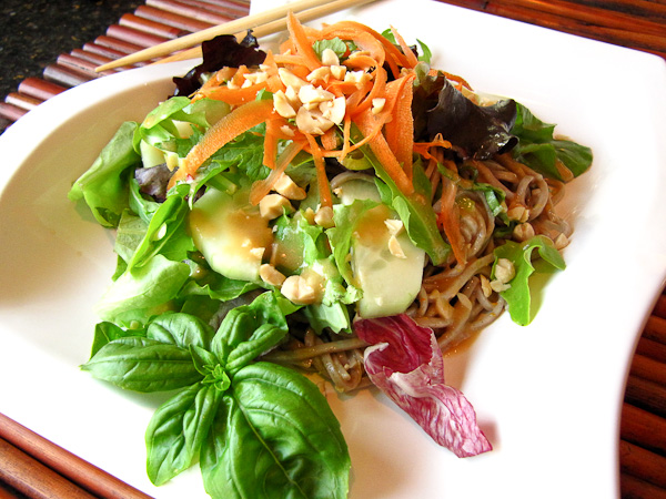 Sesame Noodle Salad | ShesCookin.com