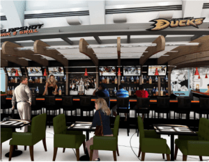 Anaheim Ducks Breakaway Bar & Grill, John Wayne Airport