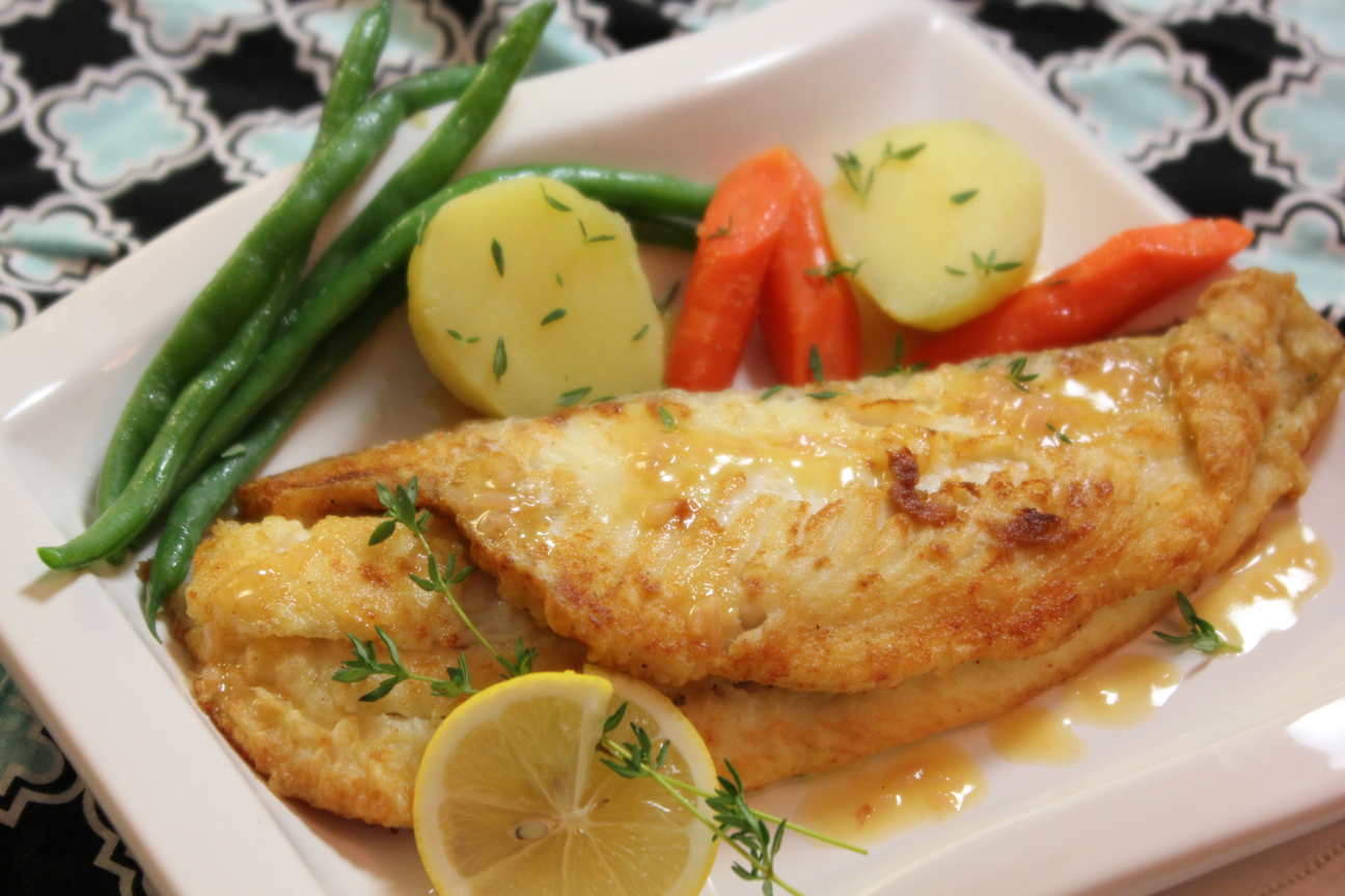 paris inspired: sole with meyer lemon buerre blanc sauce | she's
