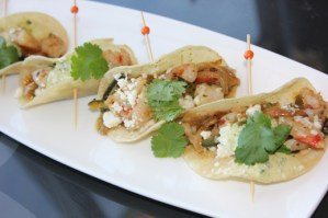 Breakaway Bar & Grill Shrimp Tacos