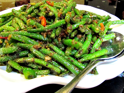 Capital Seafood House String Beans