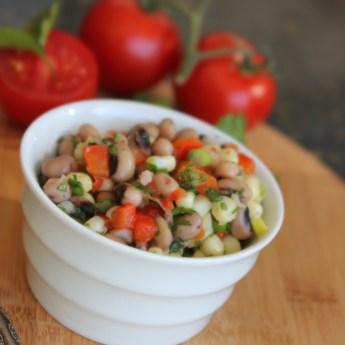 Hoppin' John salsa, blackeyed peas, Hoppin John