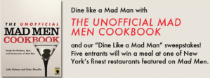 Party like a Mad Men Sweepstakes