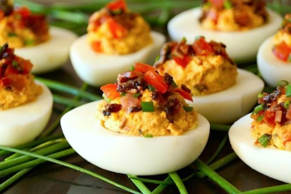 Smoky-Tomato-Bacon-Chipotle-Deviled-Eggs