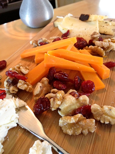 Wine Lab cheese board