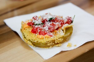 Eat Chow - Fried Green Tomato | ShesCookin.com