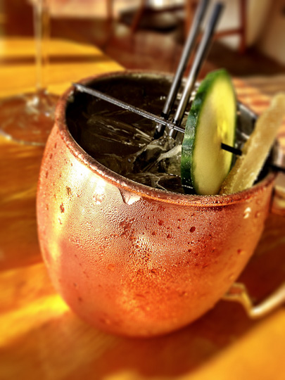 Stonehill Tavern, St. Regis, Moscow Mule