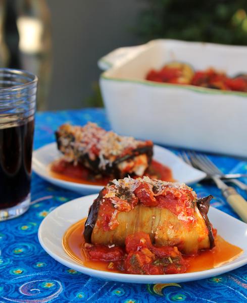 boureki, Eggplant Rolls, ShesCookin.com