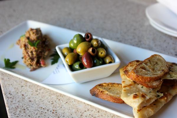 Zimzala, Shorebreak Hotel, cured olives, tapenade, US Open