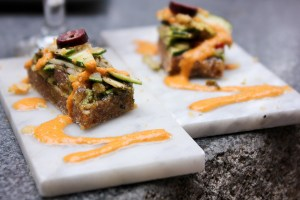 118 Degree, raw vegan pizzettas