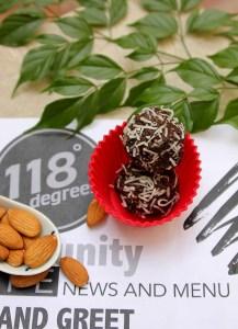 cacao truffles, vegan truffles, 118 degrees, raw vegan trufffles