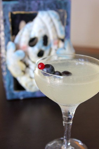 Corpse Reviver cocktail for Halloween