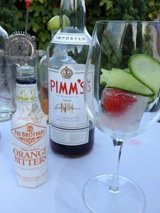 Five Crowns English Punch, Pimm's, Pimm's cup