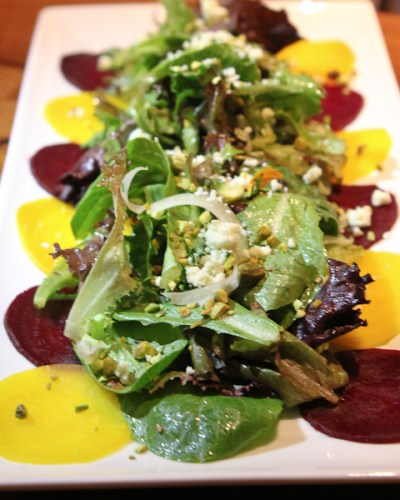 roasted beet salad, Back Bay Tavern, Whole Foods Newport Beach