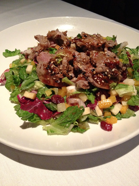 Seasons 52, Duck Salad