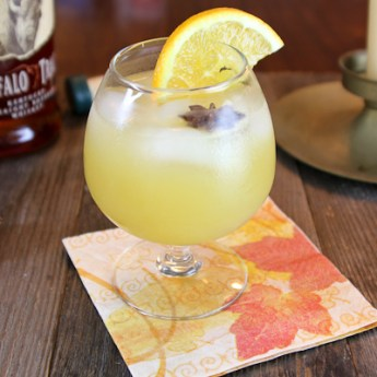 Orange Blossom Special bourbon cocktail| ShesCookin.com