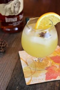 Orange Blossom Special bourbon cocktail, ShesCookin.com