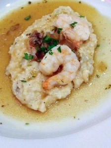 Nuevo Latino Shrimp and Grits, Chef Anthony Lamas, Seviche, Louisville, Kentucky bourbon