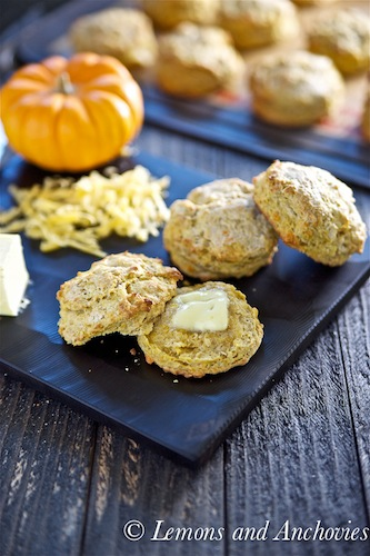 Thanksgiving recipes, Pumpkin scones, Pumpkin cheddar scones