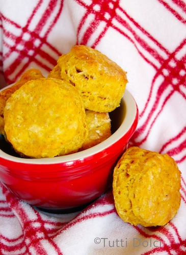 Pumpkin spice biscuits, easy Thanksgiving sides